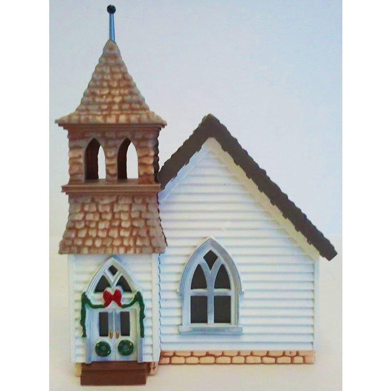The Country Church Sarah Plain and Tall Collection 1994 Hallmark Christmas Collectible XPR9450 NIB