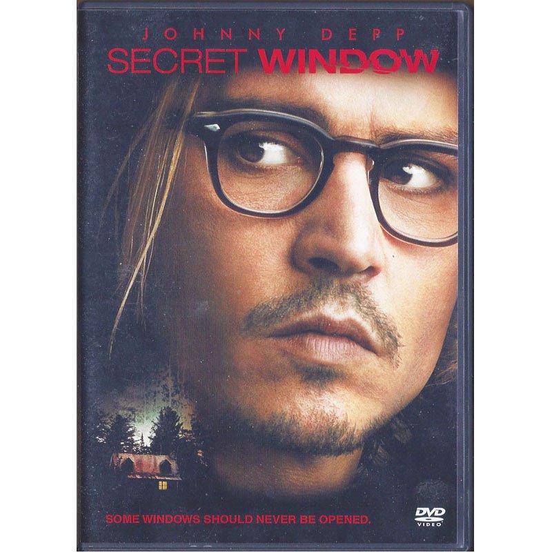 Secret Window DVD Widescreen Johnny Depp 2004