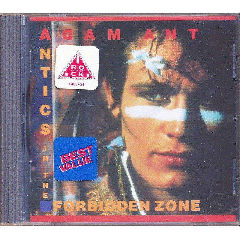 Adam Ant Antics in the Forbidden Zone Greatest Hits CD 1990