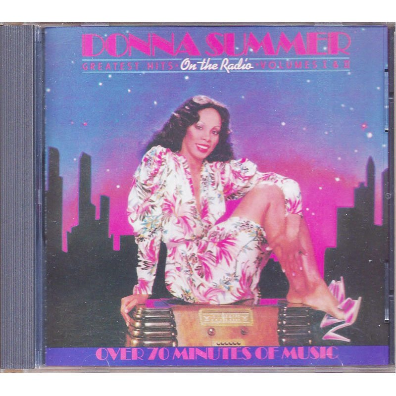 Donna Summer On the Radio CD 1979 Re-release