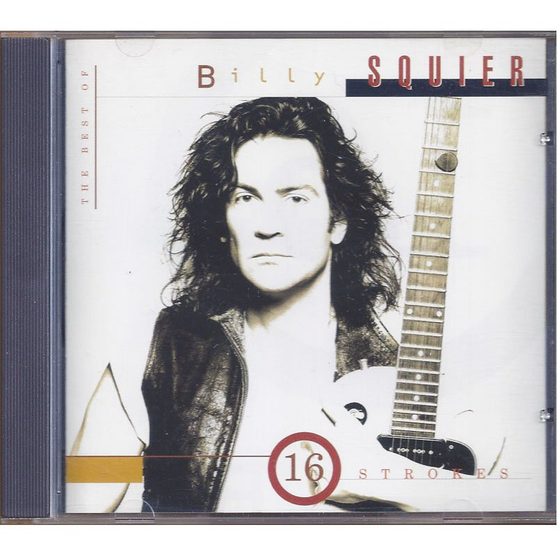 Billy Squier 16 Strokes The Best of Billy Squier Greatest Hits CD 1995
