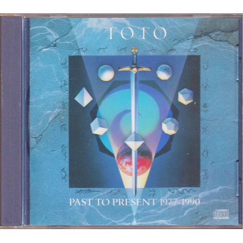 Toto Past to Present 1977-1990 Greatest Hits CD 1990