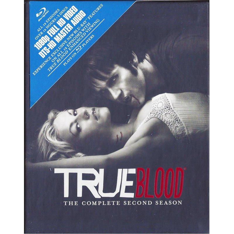 True Blood HBO Series Season 2 Blu-Ray Anna Paquin Stephen Moyer Alexander Skarsgard 2010