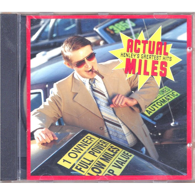Don Henley Actual Miles Henley's Greatest Hits CD 1995