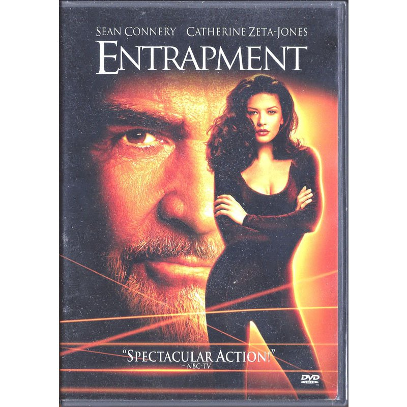 Entrapment DVD Widescreen Sean Connery Catherine Zeta-Jones 1999