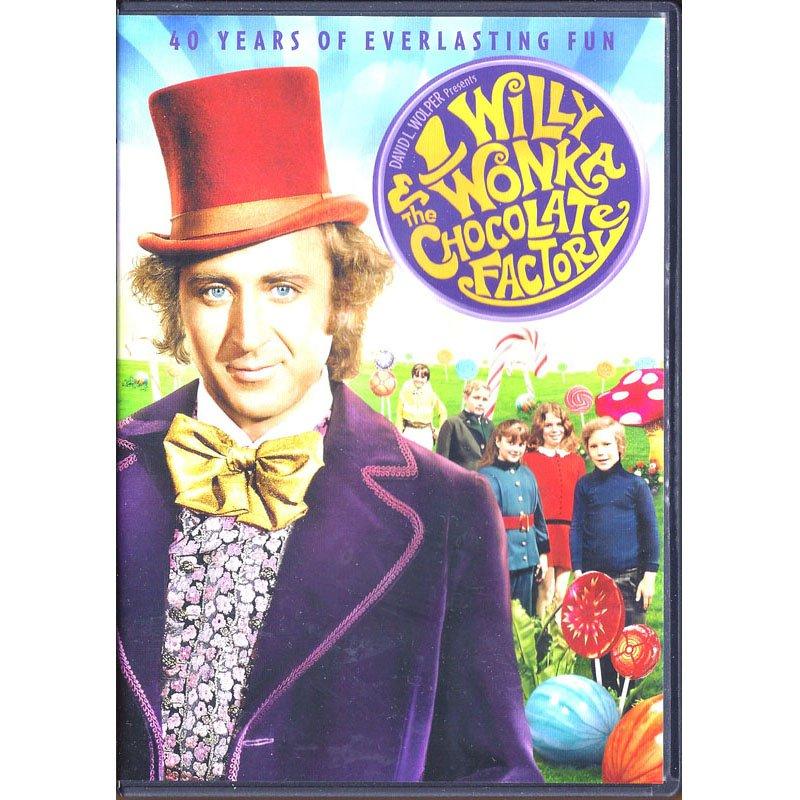 Willy Wonka and the Chocolate Factory DVD Gene Wilder Jack Albertson Peter Ostrum 2011