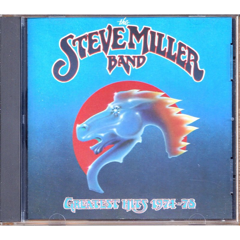 The Steve Miller Band Greatest Hits 1974-78 Classic Rock CD Club Edition