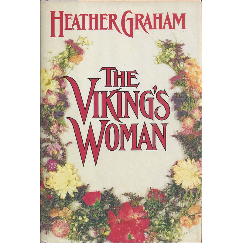 The Viking's Woman by Heather Graham First Edition Hardcover Historical Romance Novel 1990
