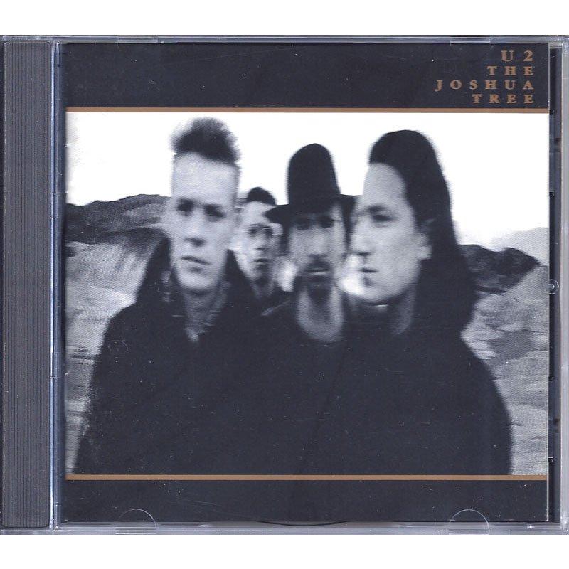 U2 The Joshua Tree CD 80s Classic Pop Rock Music 1987