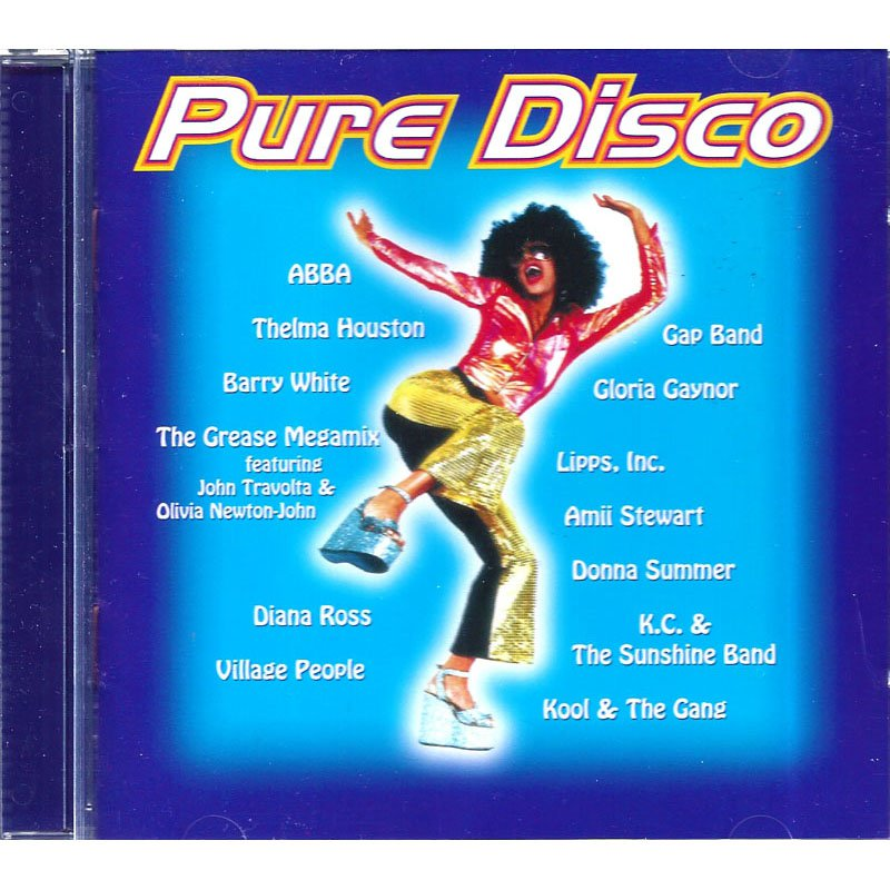 Pure Disco Various Artists CD 1996 Club Edition