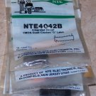 NTE 4042B Quad D Latch