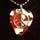 Guitar pick pendant #017