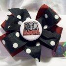 Alabama hair bow #006