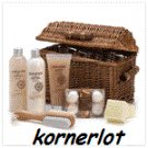 Sandalwood Scented Spa Basket