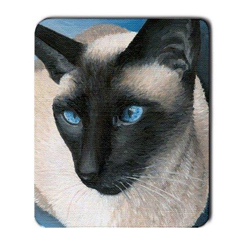 Mousepad from art design Siamese Cat