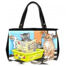 Office Handbag Purse from art Cat 464 bathroom art