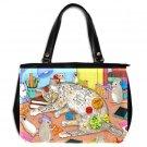 Office Handbag Purse from art Cat 468 mouse