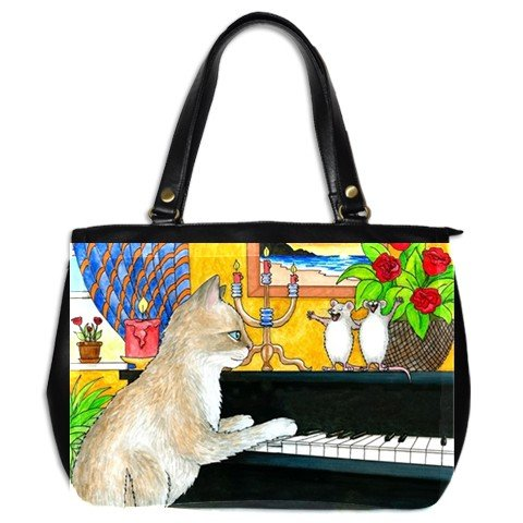Office Handbag Purse from art Cat 506 mouse