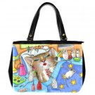 Office Handbag Purse from art Cat 508 mouse