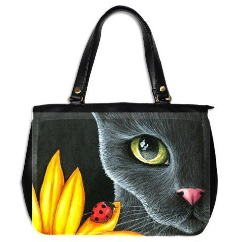 Office Handbag Purse from art Cat 510 ladybug