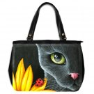 Office Handbag Purse from art Cat 510 ladybug
