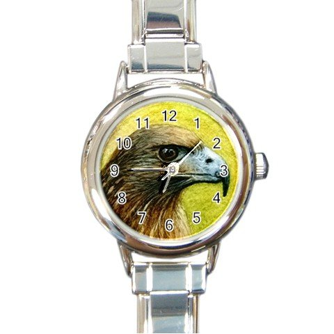 Round Italian Charm Watch from art Bird 42 Eagle