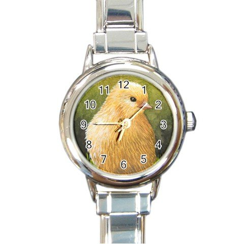 Round Italian Charm Watch from art Bird 60 Chick