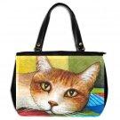 Office Handbag Purse from art painting Cat 251
