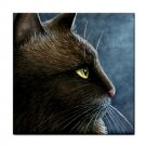 Ceramic Tile Coaster from art painting Cat 549