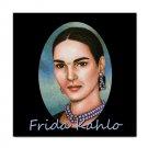 Ceramic Tile Coaster from art painting Frida Kahlo 14