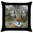 Throw Pillow Case from art painting Cat 359