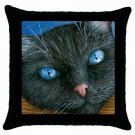Throw Pillow Case from art painting Cat 414