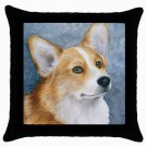 Throw Pillow Case from art painting Dog 89 Pembroke Welsh Corgi