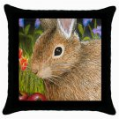 Throw Pillow Case from art painting Hare 34 Rabbit