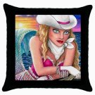 Throw Pillow Case from art painting Mermaid 58