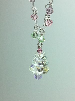Candy Dream Christmas Necklace