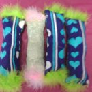 Tall Drink Dried Celery Cat Toy with Feathers