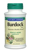 Burdock Root, 90 Veggie Caps by NATURE'S ANSWER