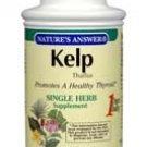 Kelp Thallus, 100 Veggie Caps by NATURE'S ANSWER