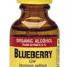 Blueberry Leaf Organic Alcohol, 1 fl oz (30 ml) by NATURE'S ANSWER