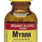 Myrrh Oleo-Gum-Resin Organic Alcohol, 1 fl oz (30 ml) by NATURE'S ANSWER