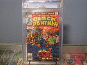 1977 Marvel BLACK PANTHER # 1 CGC 9.6 white pages