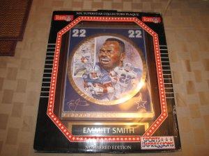 Dallas Cowboys Emmitt Smith sealed collectors plaque