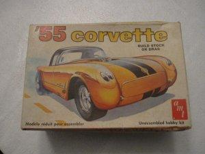 AMT '55 Corvette model kit 1/25 scale