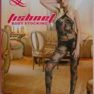 W3032 SEXY WOMEN FISHNET LACE BODY STOCKING Black