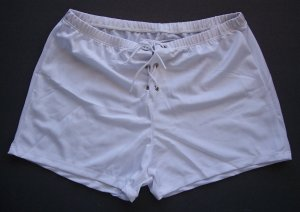 KZ345 HOT SEXY MENs BOXER BRIEFS TRUNKs LaceUp Front WHITE