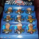 2004 Promotional Poster for Kraft NASCAR Racing Team