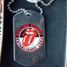 Rolling Stones Dog tag Necklace in a Gift Tin New