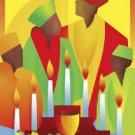 People Celebrating Kwanzaa Cross Stitch African-American ETP