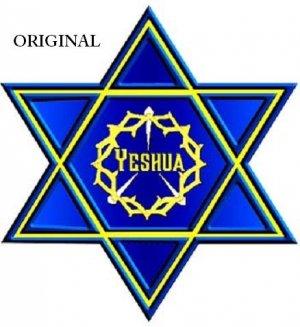Yeshua Star Crown Cross Stitch Pattern Messianic ETP